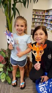 Mask Off Family Library Fun 2