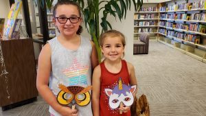 Masks Off Family Library Fun 7