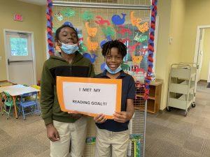 We met our Summer Reading Goals!